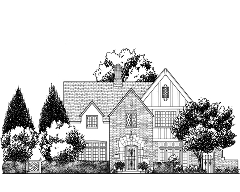 Beautiful Home Drawing in Mission Hills, KS