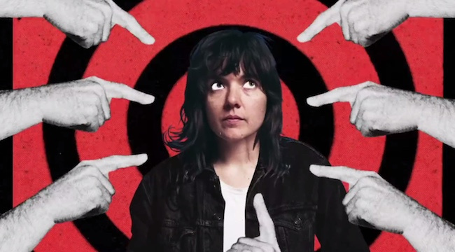 """Courtney Barnett – """"Nameless, Faceless"""" - This latest single comes from Barnett's upcoming album Tell Me How You Really Feel. It marks a substantial departure from the more subdued singer/songwriter approach she took to Lotta Sea Lice, the collaborative album that she released with Kurt Vile last year. The song brings back the more abrasive, chaotic sound of Barnett's best solo work (such as the stellar """"Pedestrian at Best""""), which makes sense, given that this single is an outlet for Barnett's frustration with having to defend herself in everyday situations against men who react violently to being emasculated. Barnett has a knack for conveying potent, emotionally charged imagery through her songwriting, and the striking visual of clutching her car keys as a makeshift weapon to fend off male pursuers is no exception."""