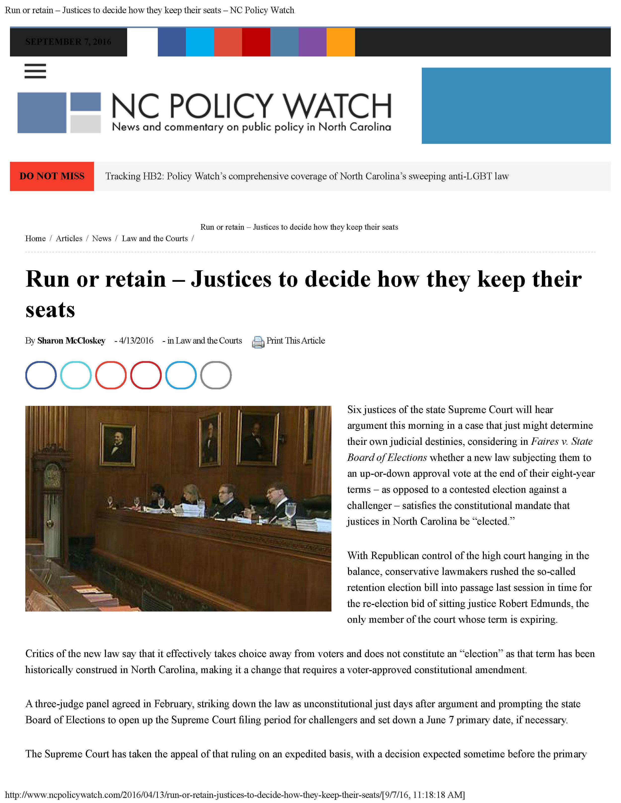 Sharon McCloskey - Run or retain – Justices to decide how they keep their seats – NC Policy Watch_Page_1.jpg