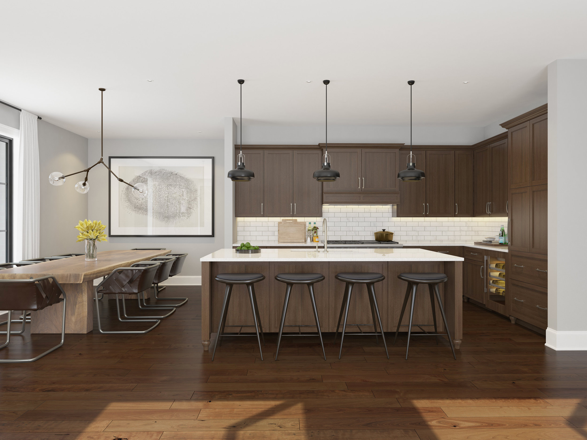 Kitchen/Dining - Unit 4E
