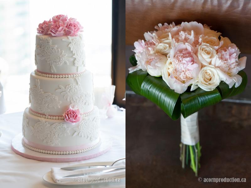 12--white-pink-wedding-cake-wedding-bouquet-flower