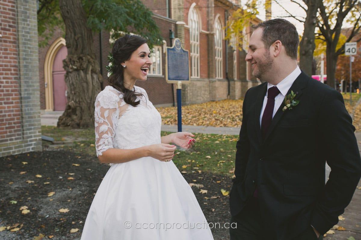 bride surprise first look