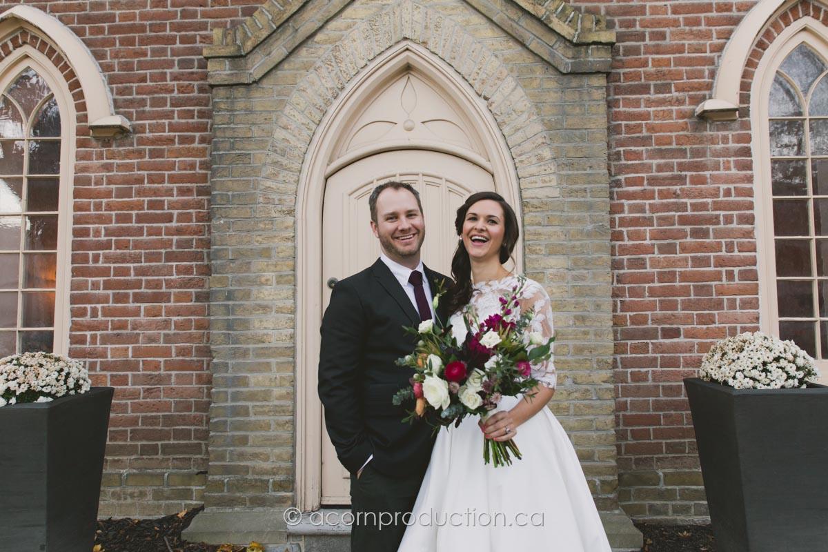 enoch turner schoolhouse wedding couple