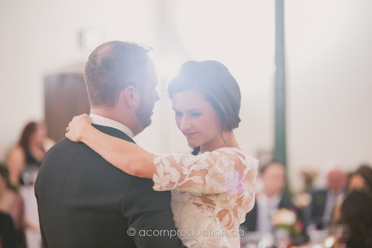 intimate moment first dance