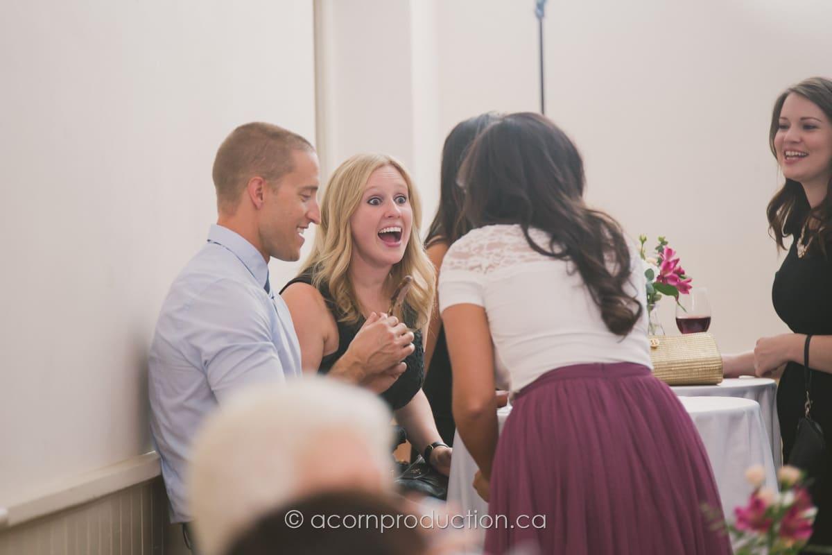 candid photo wedding guest