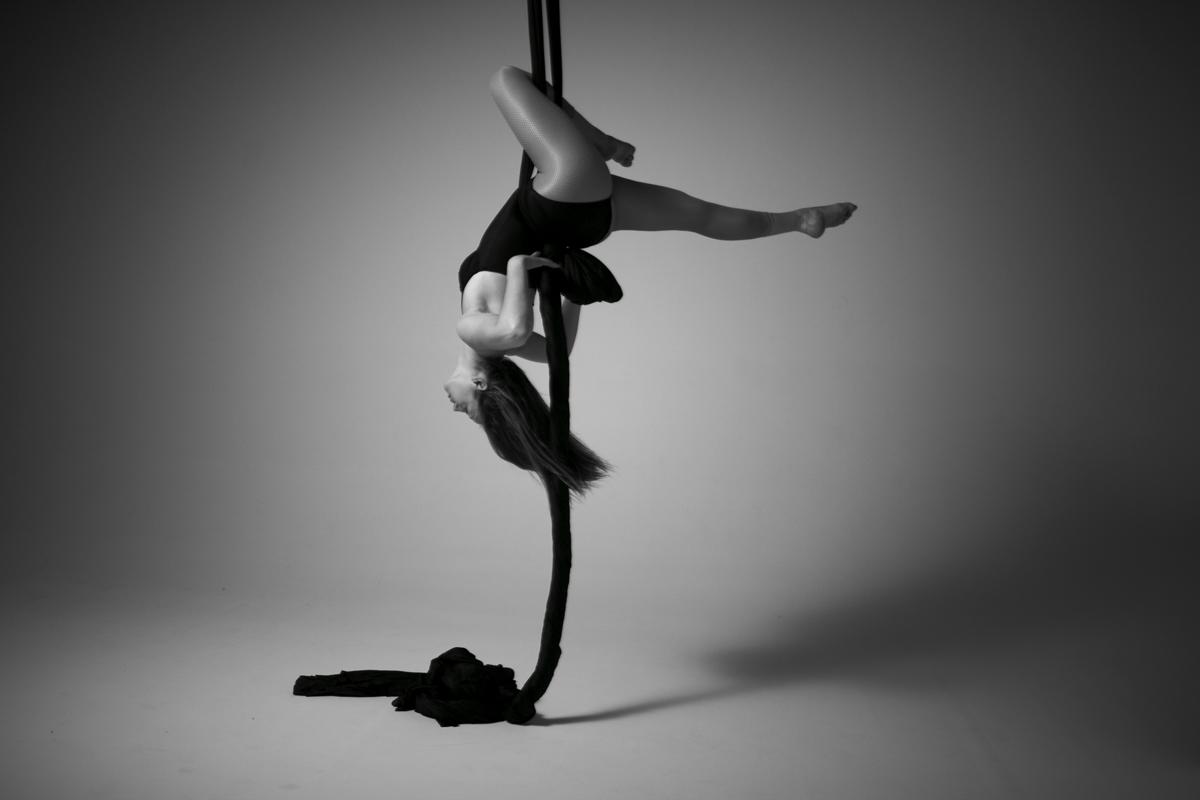 Aerial Silks Photo by  Wesley Mann