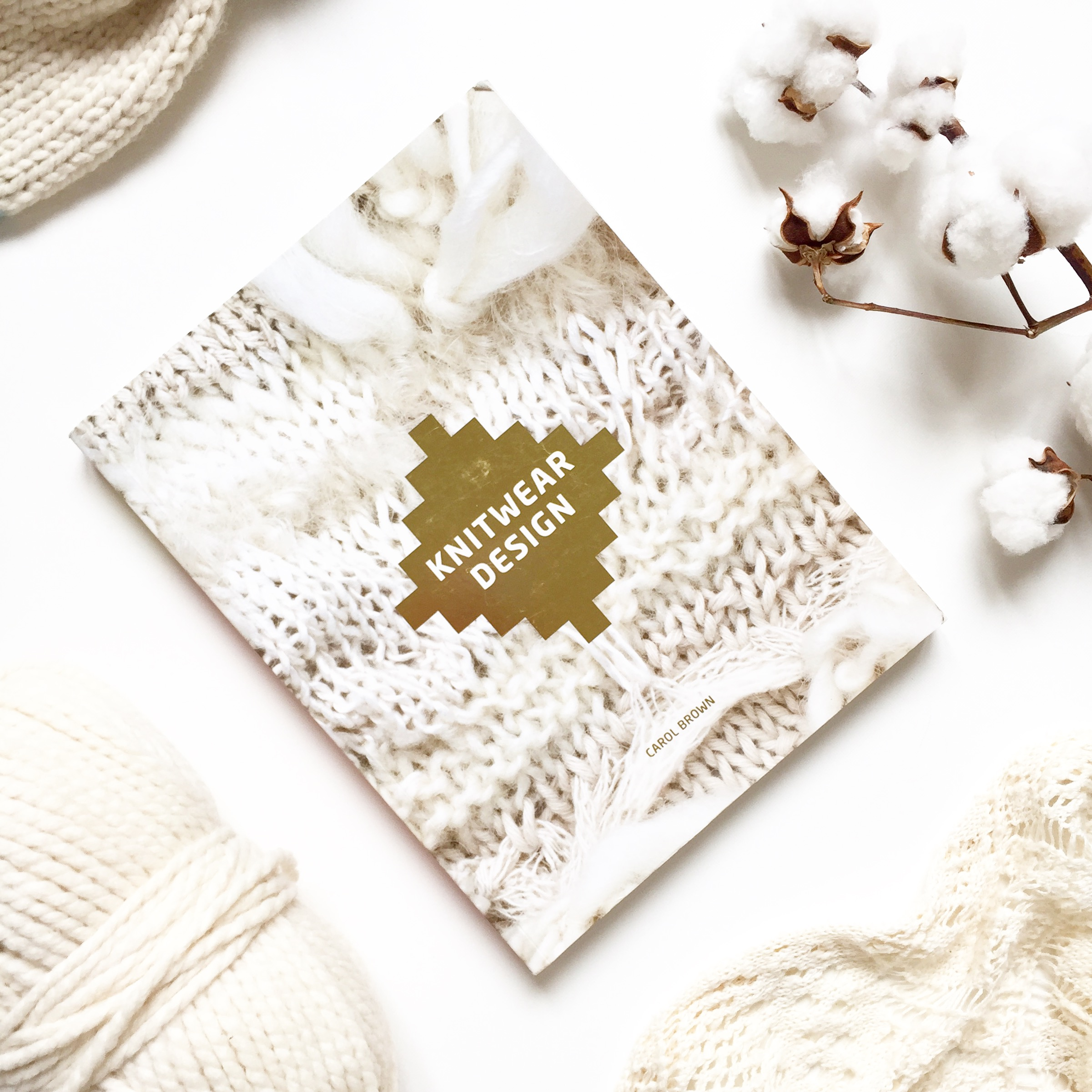 Knitwear design Carol Brown book review