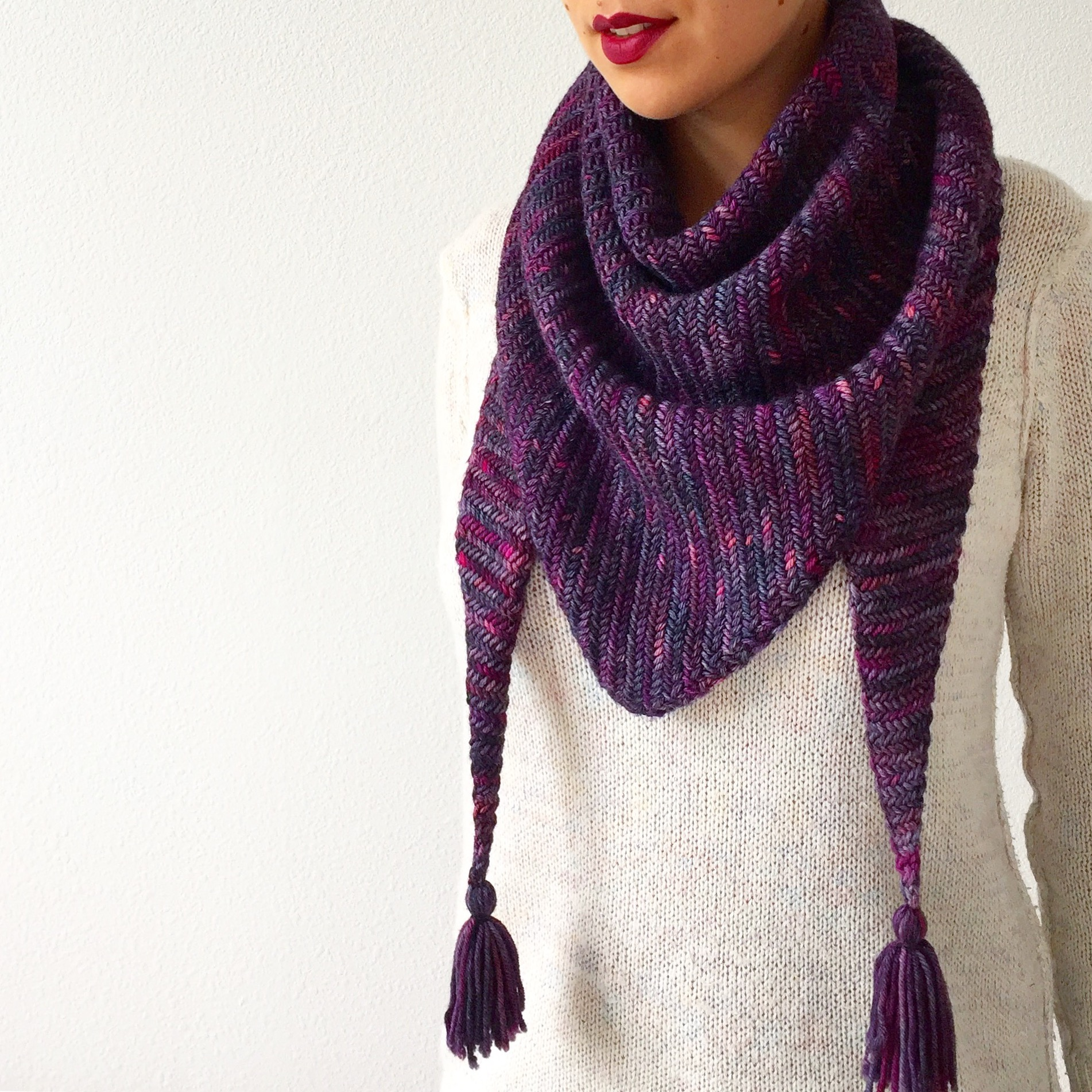 How to knit Sorceress Scarf