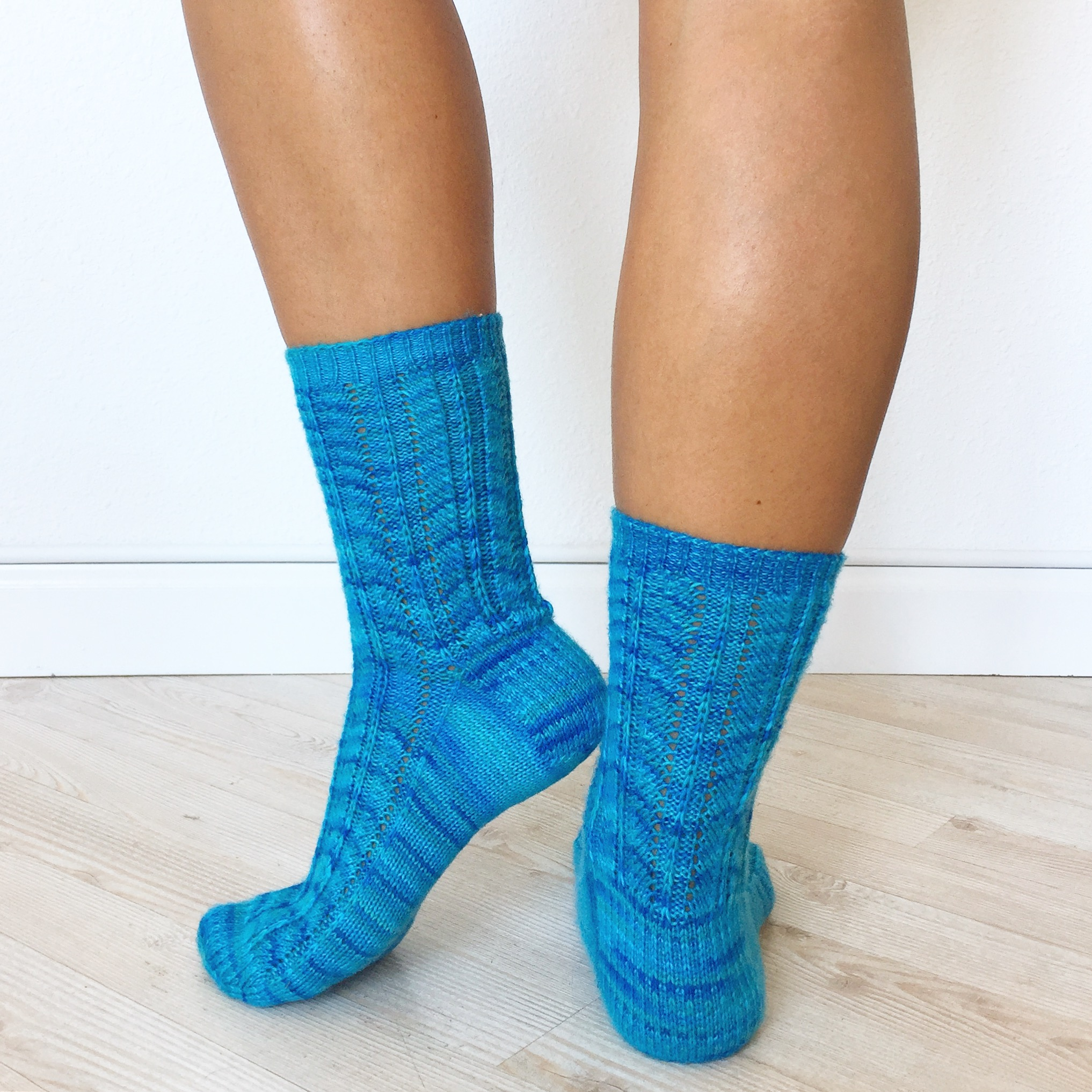 Spring Stream socks 2