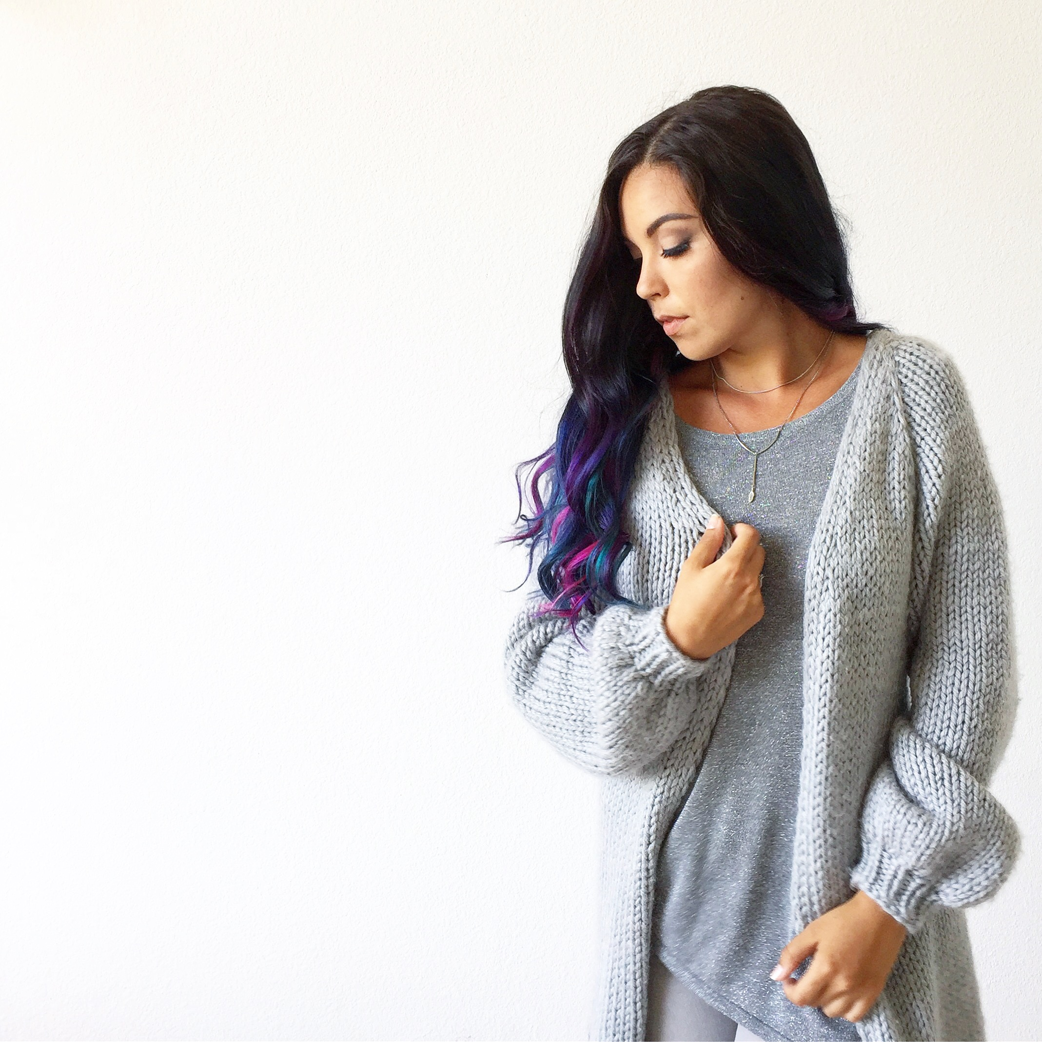 How to knit Cozy Cloud Cardigan