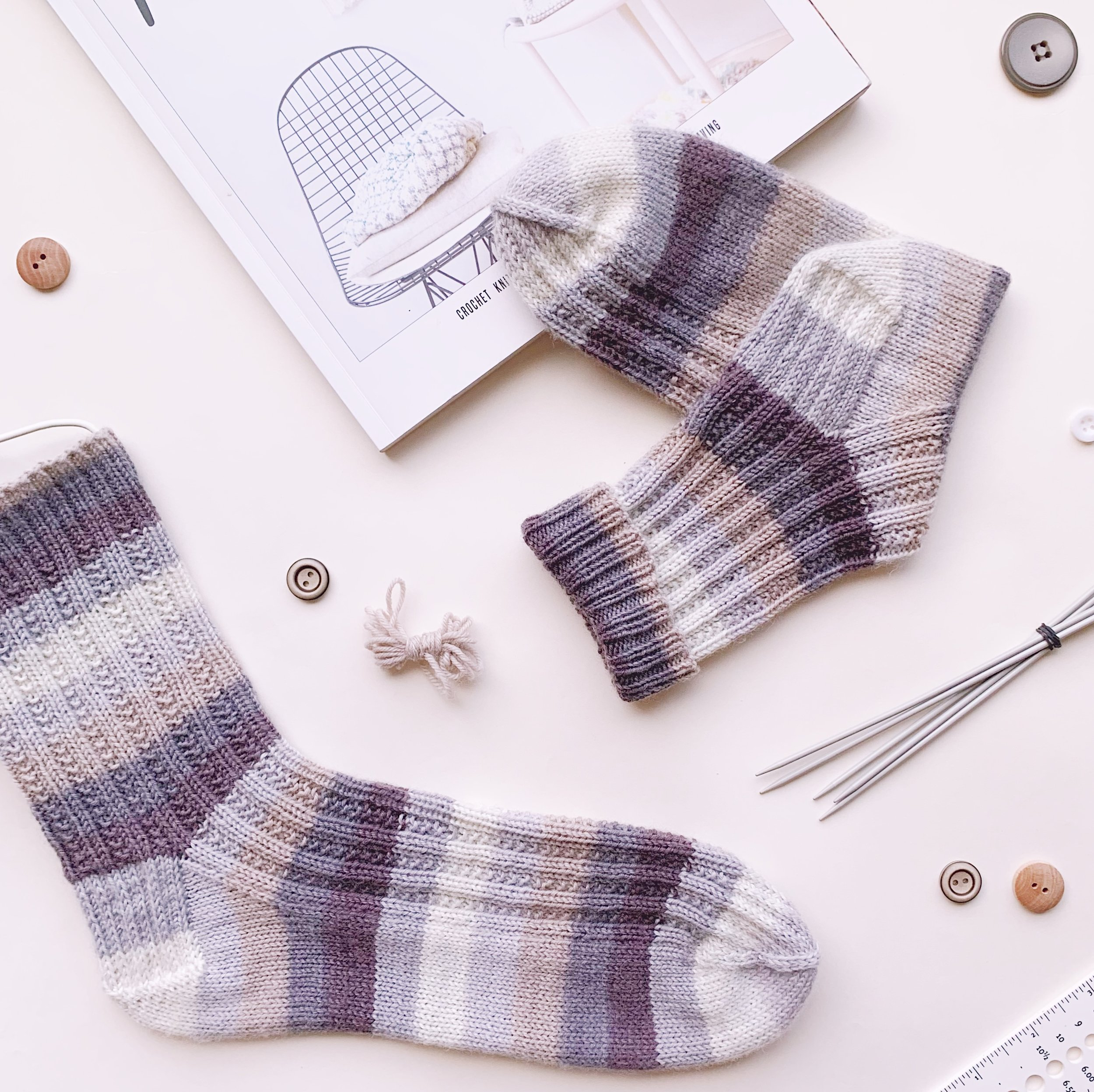 Spring Stream socks 2