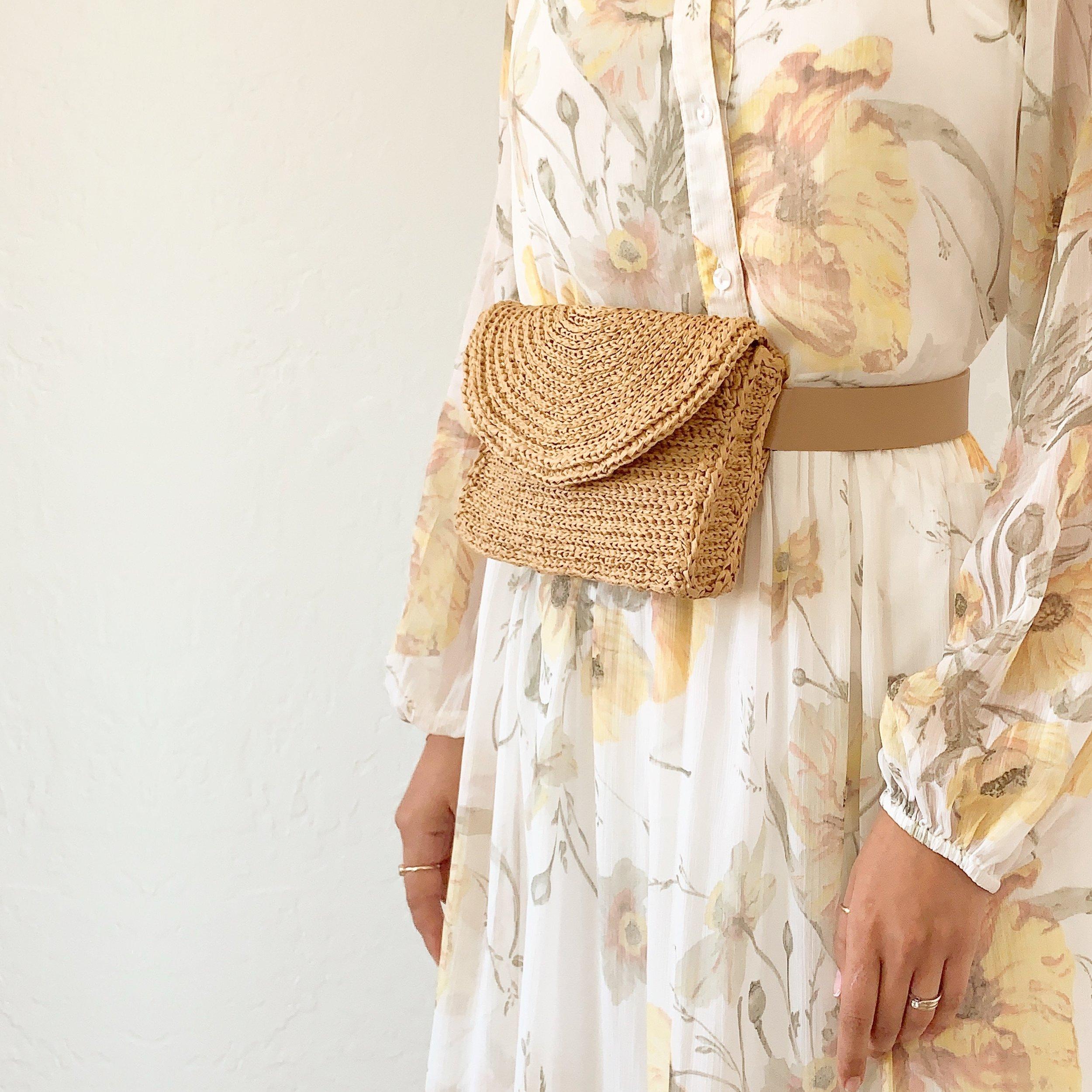 Crochet Belt Bag