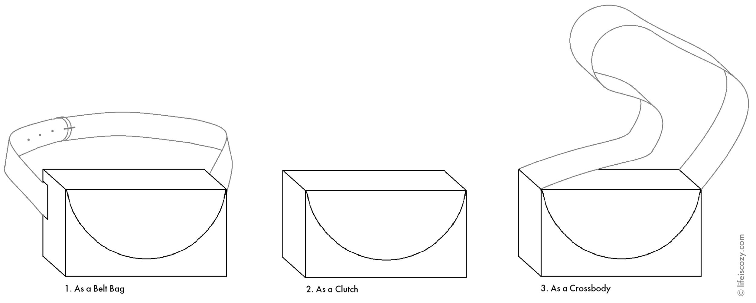 Luna bag variations