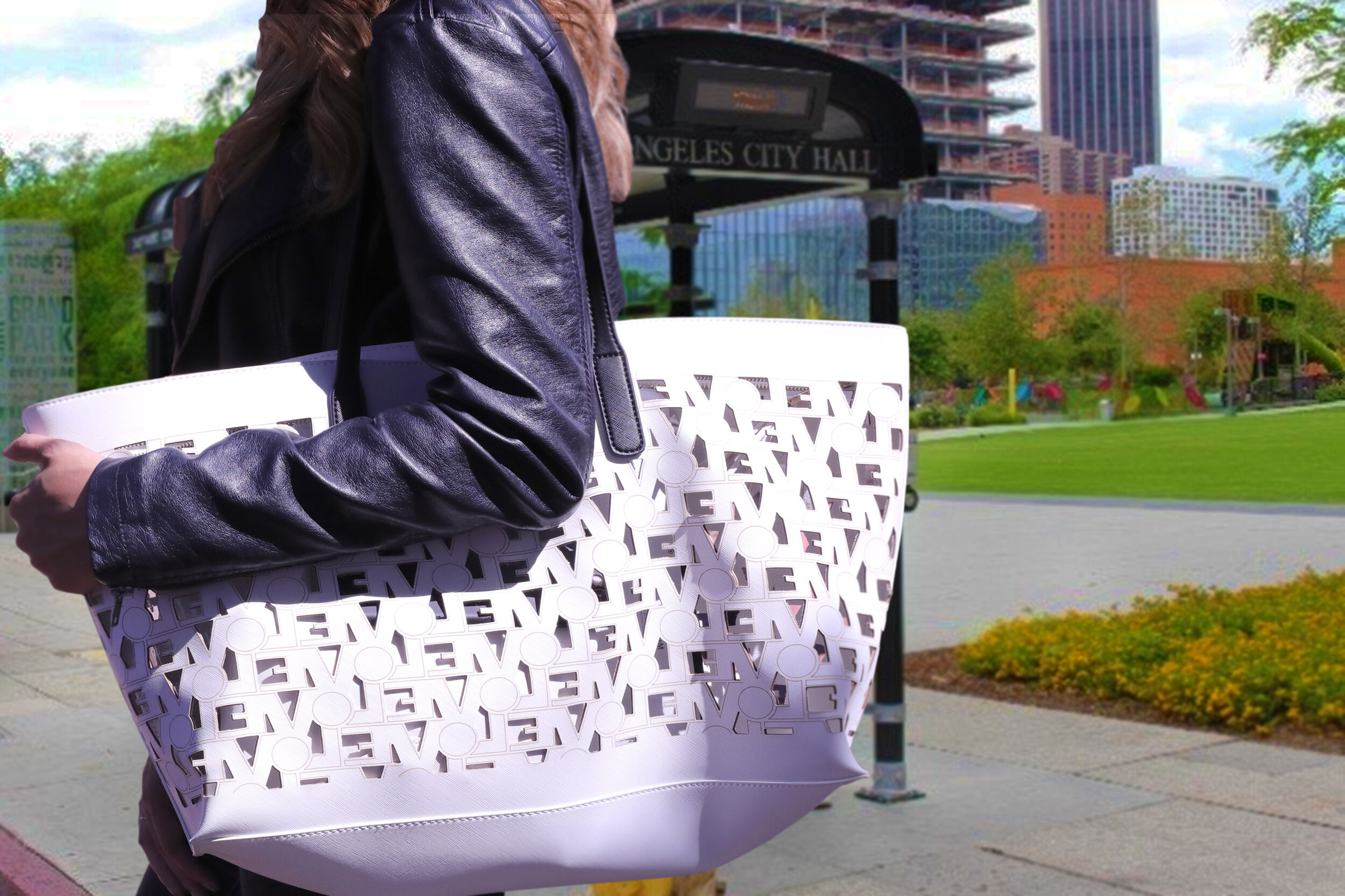 White Tote (Arm on Bag, Bus Stop Background).jpg