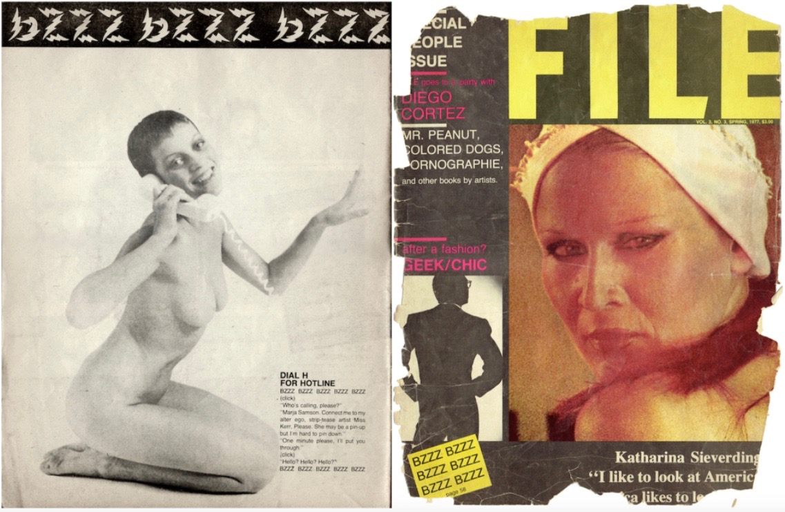 #Mbhave for FILE Magazine, 1977