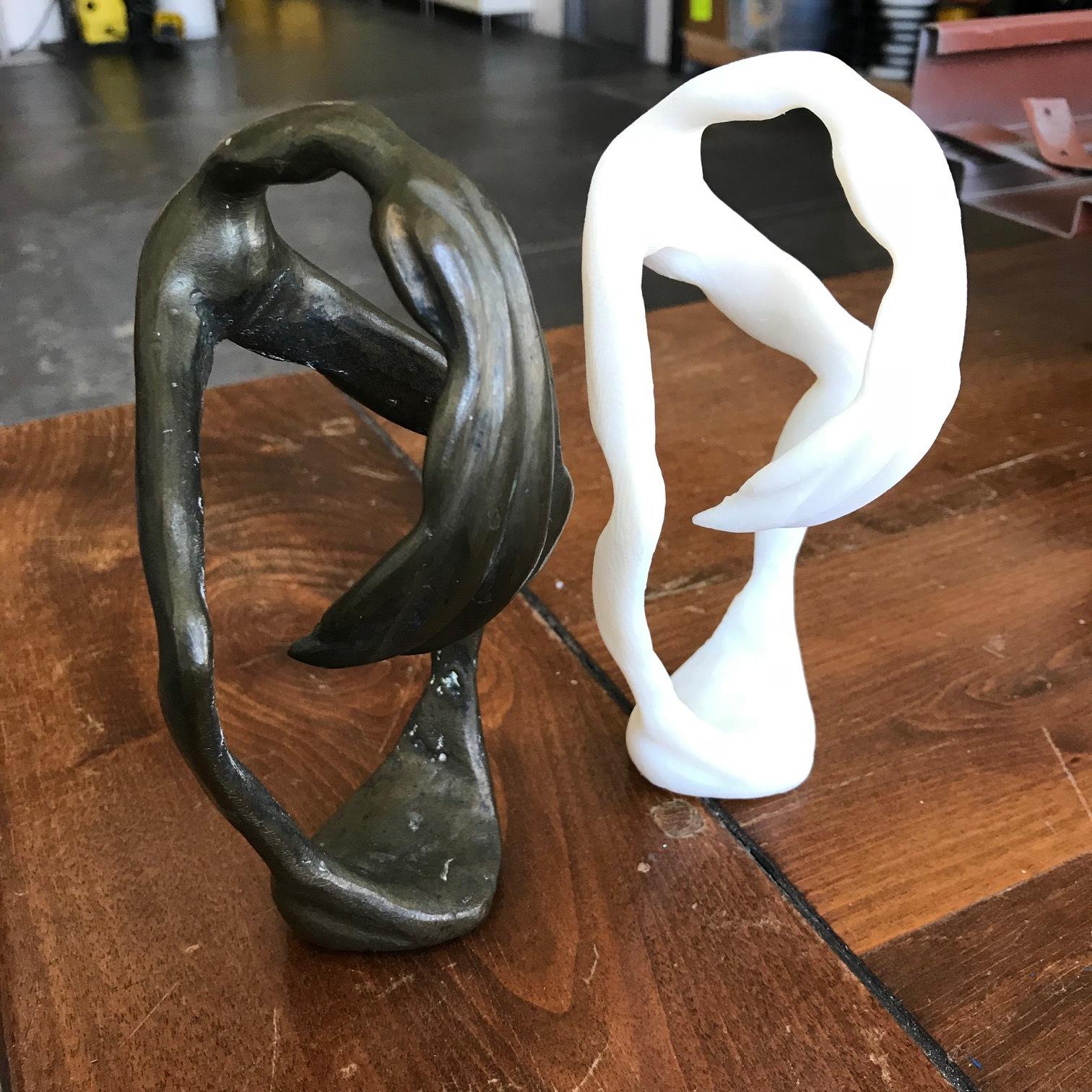 Sculpture:  Scan to 3D Print