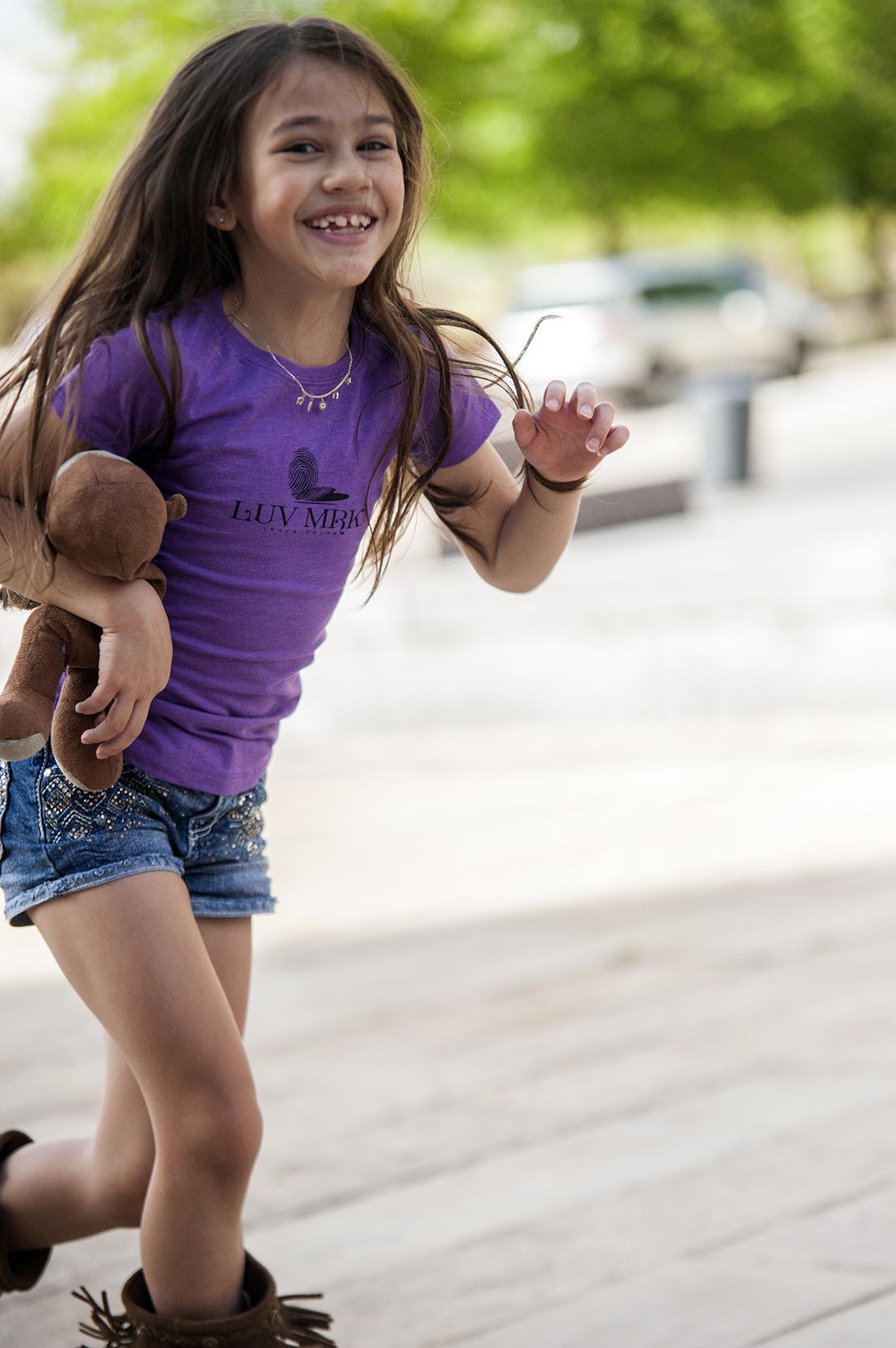 Girl Shirt. Running. Mylee.jpg