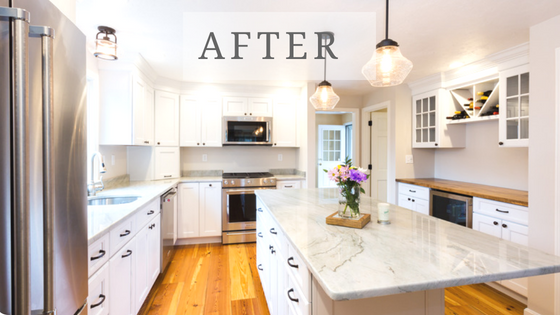 By the Bay // Cape Cod Kitchen and Bath Remodel — B.M.W. ...