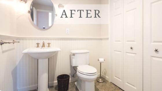 Cape Cod bathroom remodel