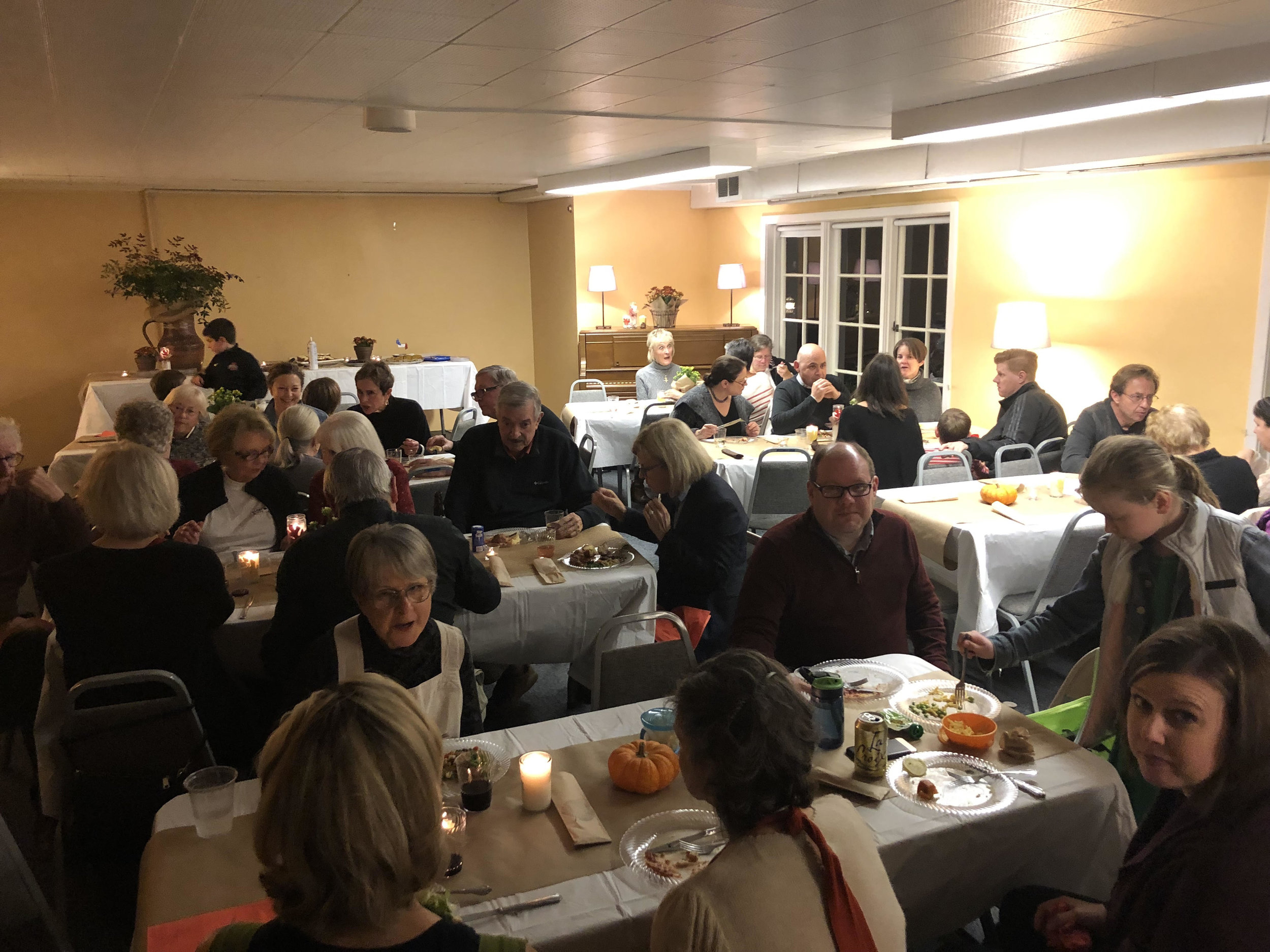 Our Annual Harvest Dinner for 2018.