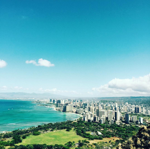 Diamond Head Hike  @wataru1002ito