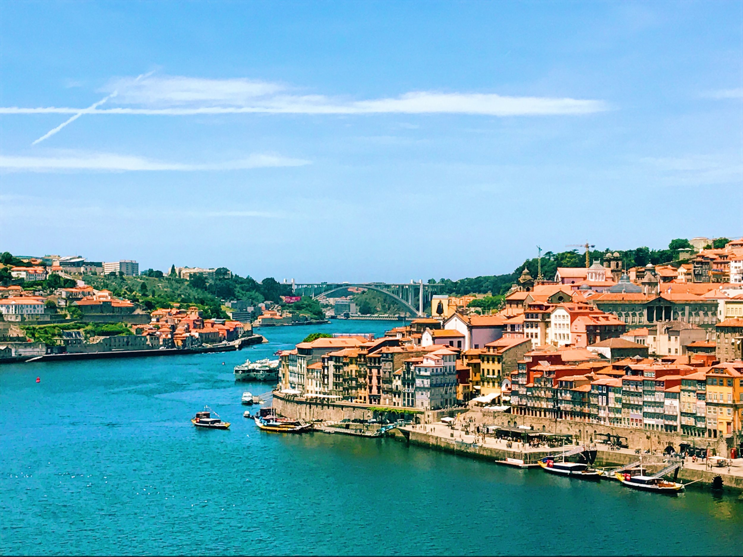 A view of Porto from Gaia