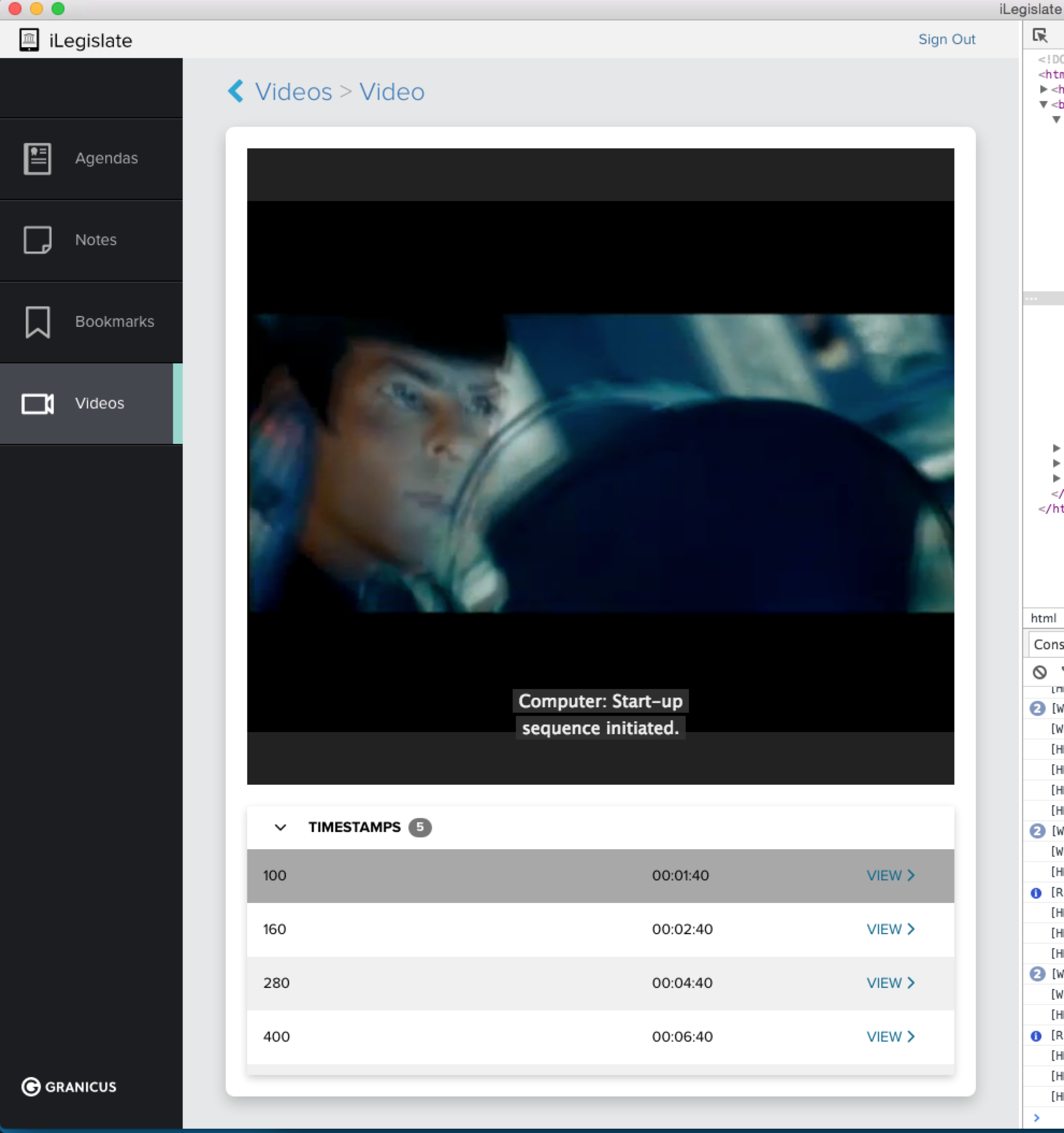 - We use Star Trek to test our video streaming. Highly logical!