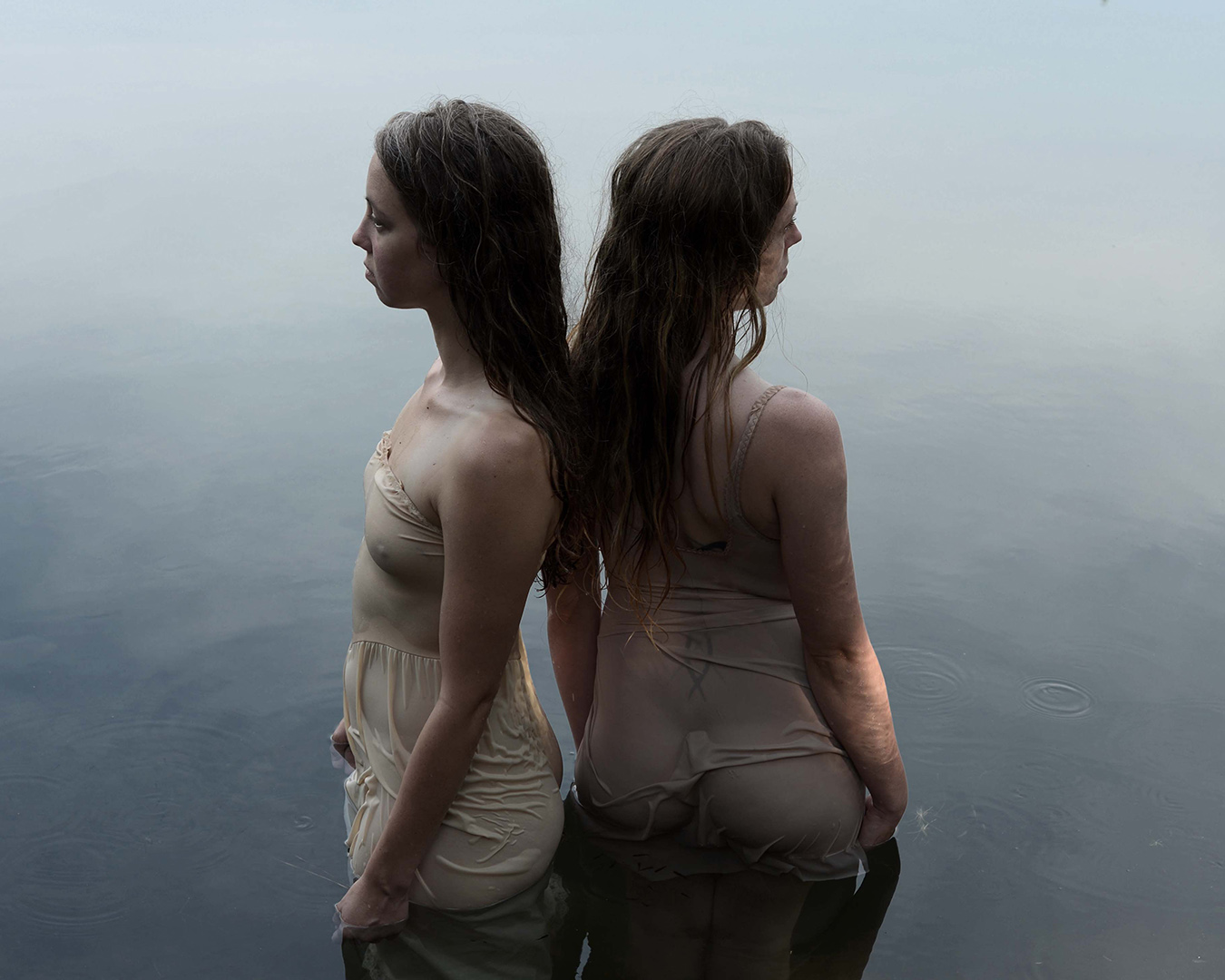 Laura and Kate. Archetype: The Water Nymphs