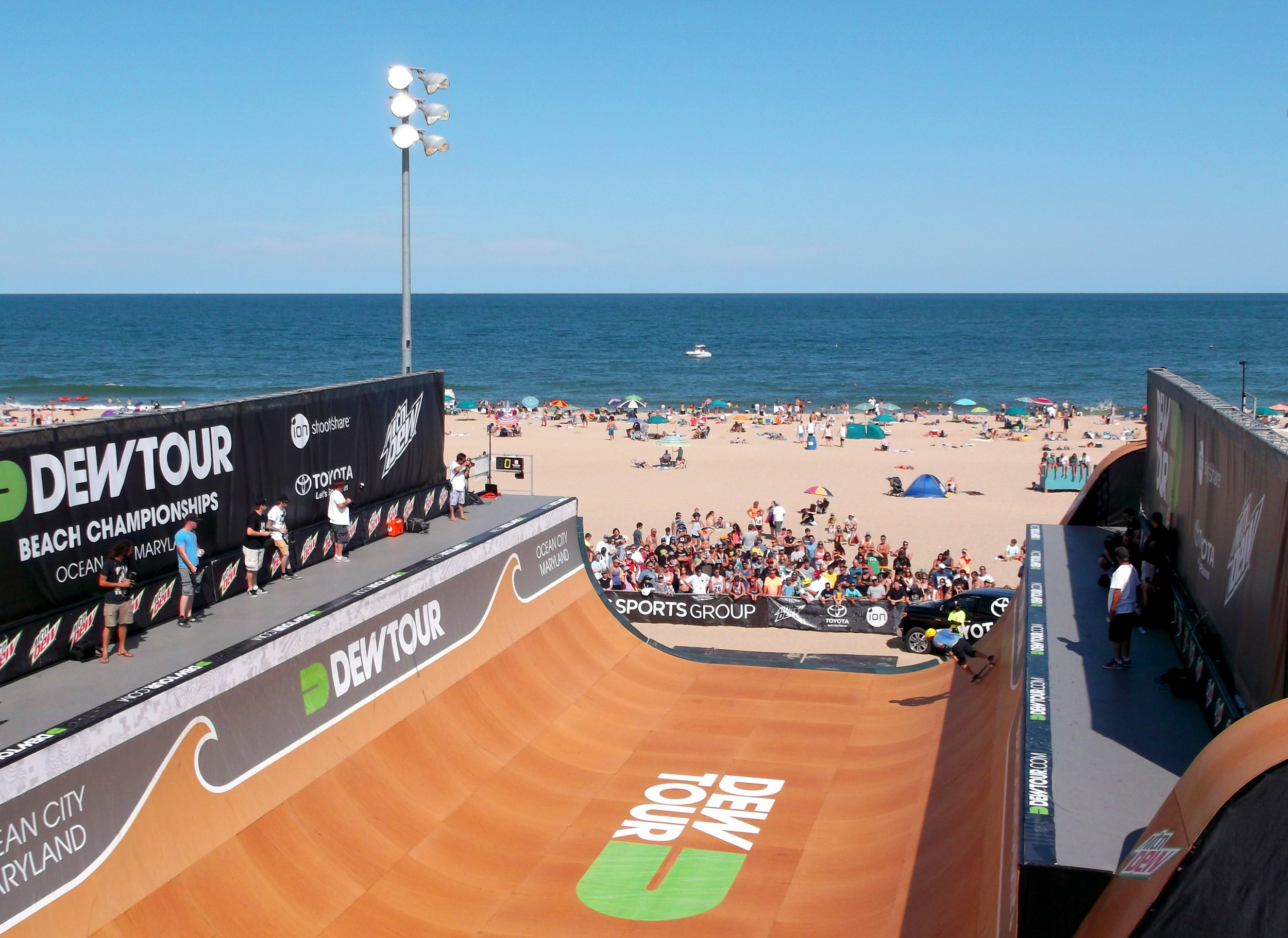toyota @ dew tour    - STRATEGY, EVENTS -
