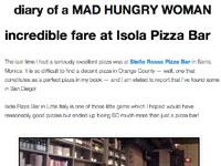 Incredible Fare at Isola Pizza Bar