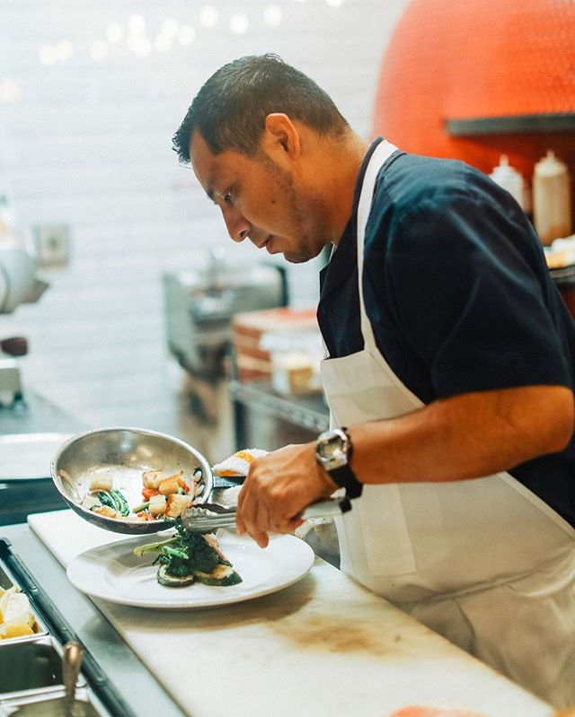 Reason number 101 why we love our chefs? Because they make everything with love, and it shows! - - - #eatwellbewell #instadaily #foodpics #madefromscratch #vegetarian #tryitordiet #pizzalover #healthyish #foodstagram #foodlover #isolapizza #authenticitalian #italiancuisine #lajolla #littleitalysd #sandiegoeats #yelpsd #youstayhungrysd #italian #pizza #coastcreative