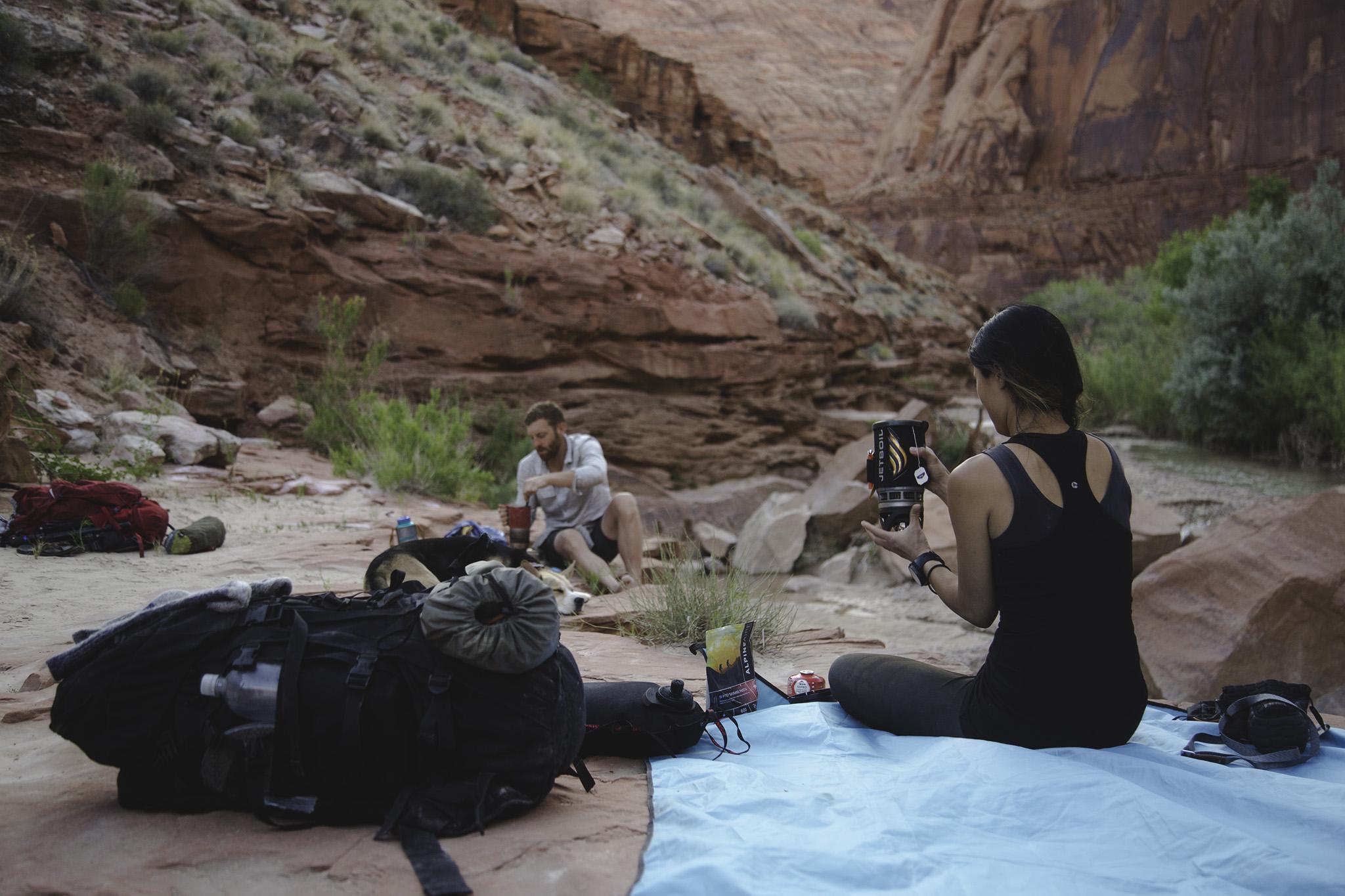 paria canyon camping