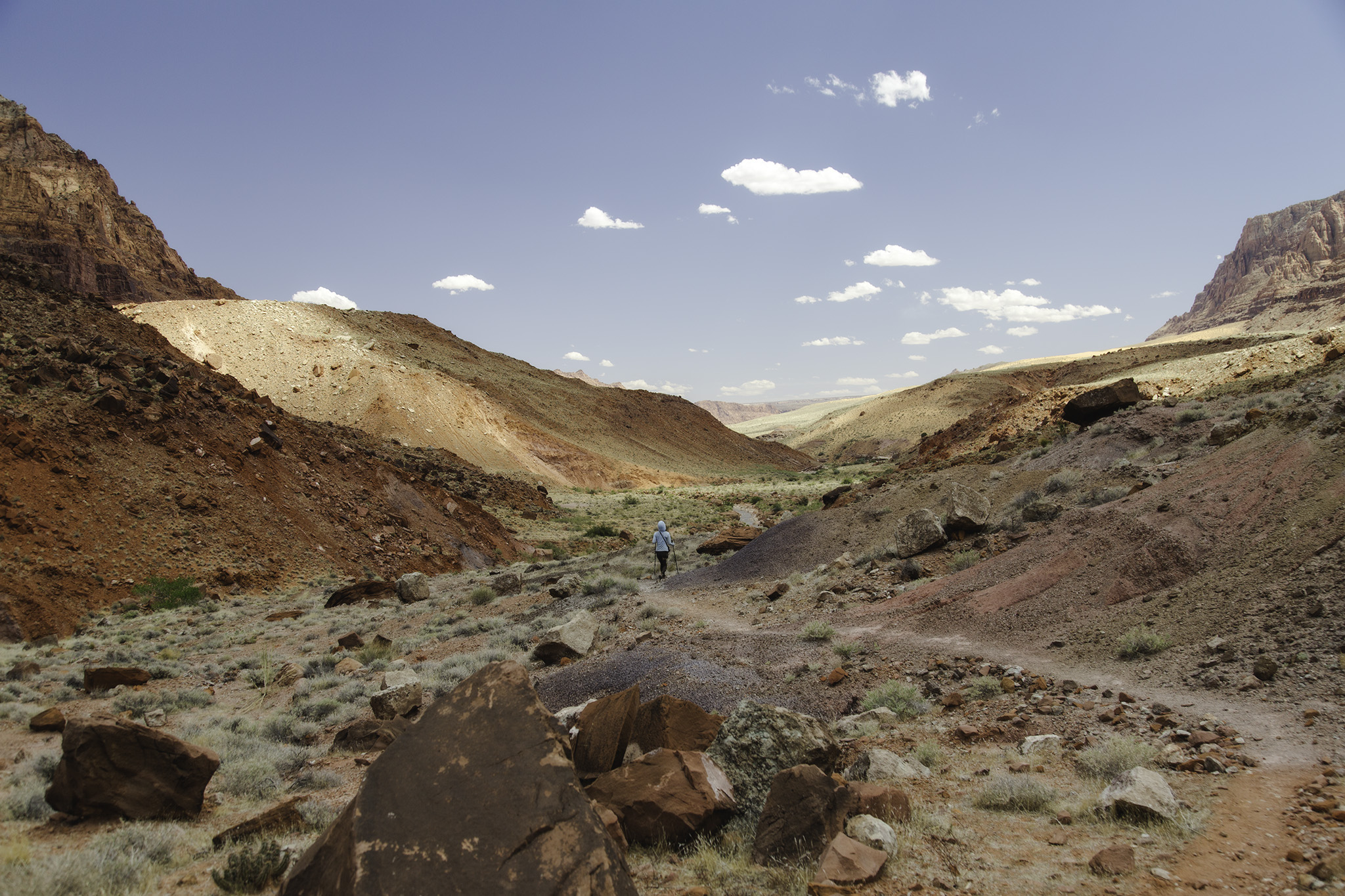 paria canyon high water route