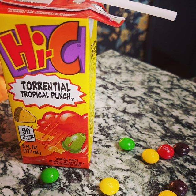 What's on YOUR counter? Hmm...which munchkin is responsible for this? Signs of kids are everywhere!!! . . . #tropicalpunch #torrentialtropicalpunch #fruitdrink #hic #kids #kidsdrink #drinkinthebox #skittles #skittlestastetherainbow #candy #sugar #kidmess #whatsonyourcounter #whatsonyourcountertop #counters #countertops #heartlandgranite #hgq #topeka #topcity #forbesfield #granitecountertops #granitecounters #granite
