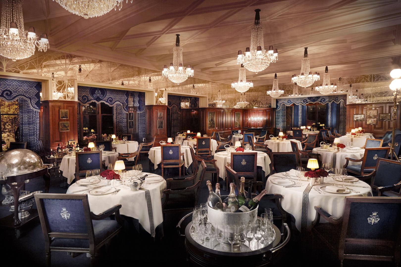George V Dining Room - Image Courtesy Ashford Castle