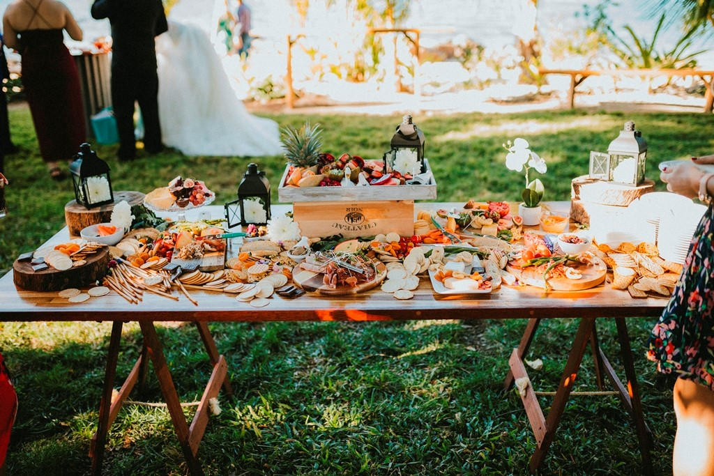 Grazing tables - Peach & Pear Catering