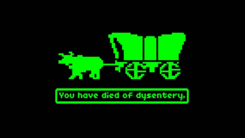 You can actually play  The Oregon Trail online now for free ! Wow, I love the internet.