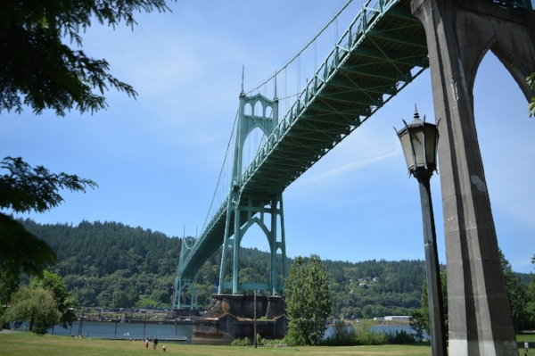 The St. Johns Bridge