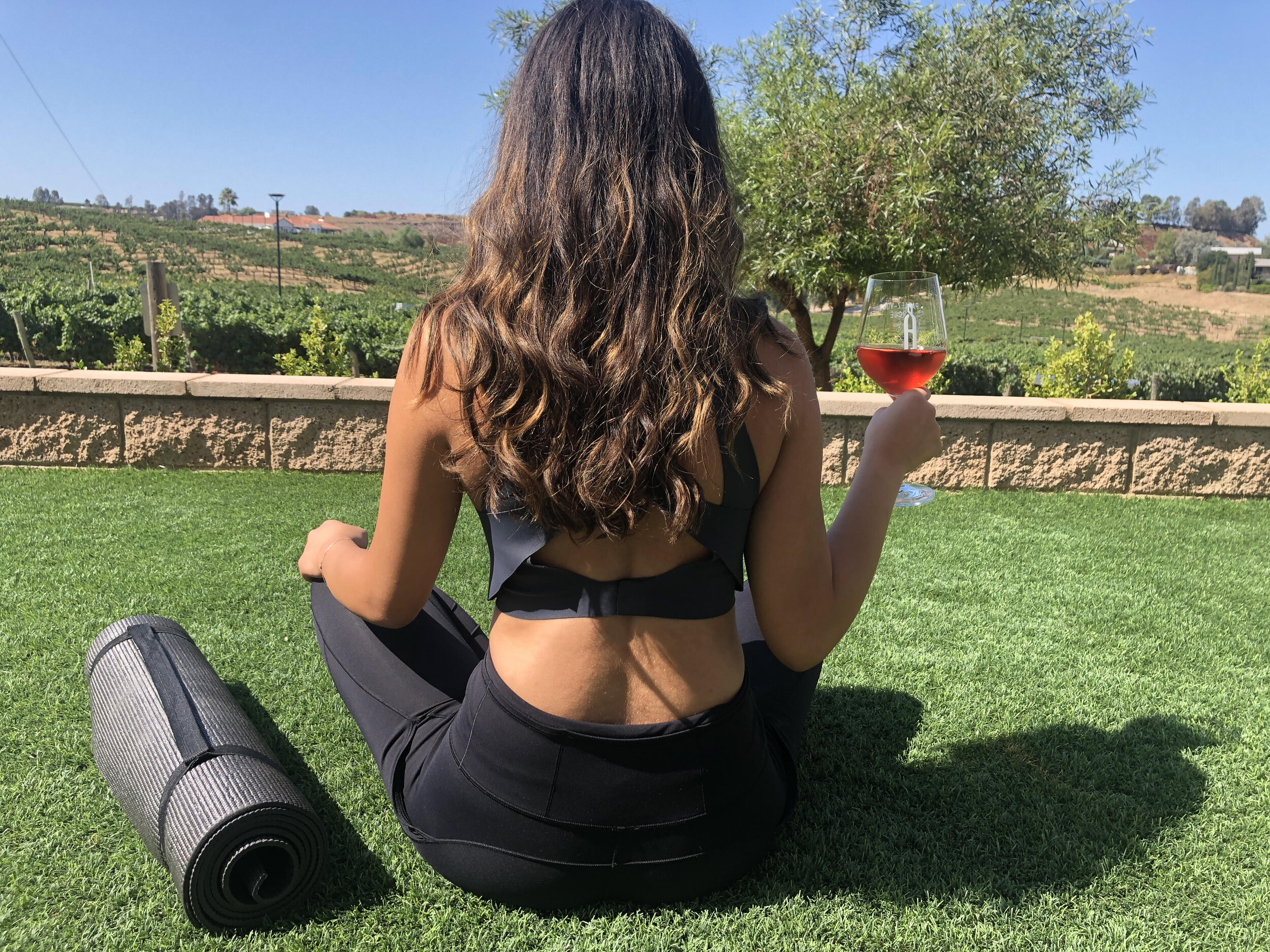 Yoga + Wine Club