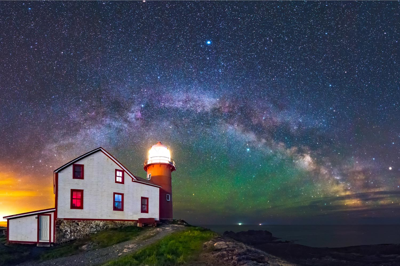 Ferryland Lighthouse Milky Way