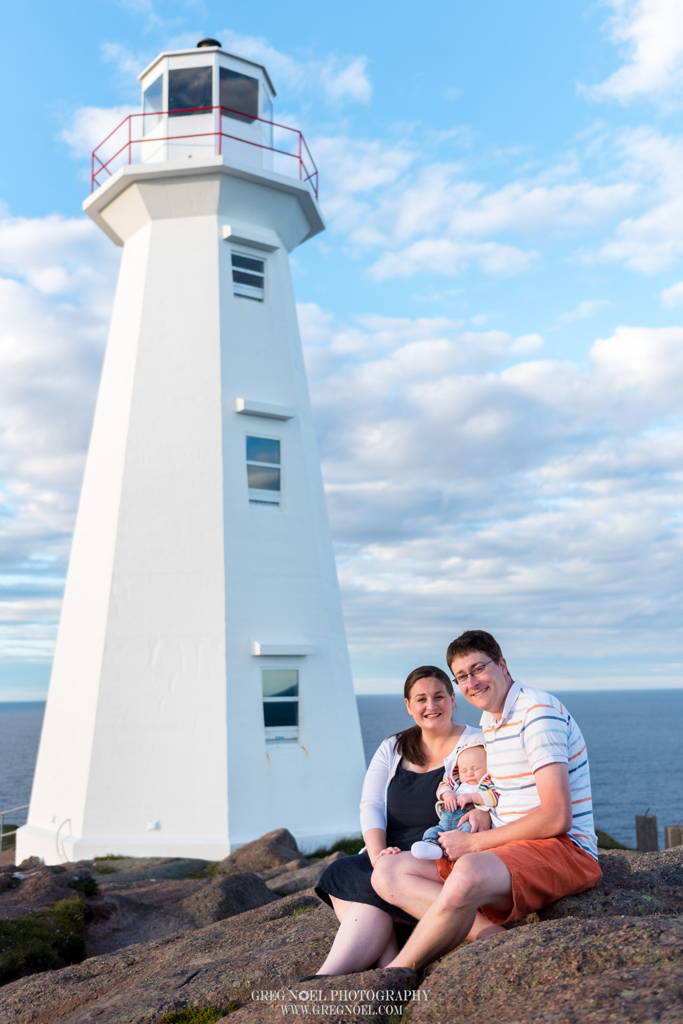 On location session at Cape Spear