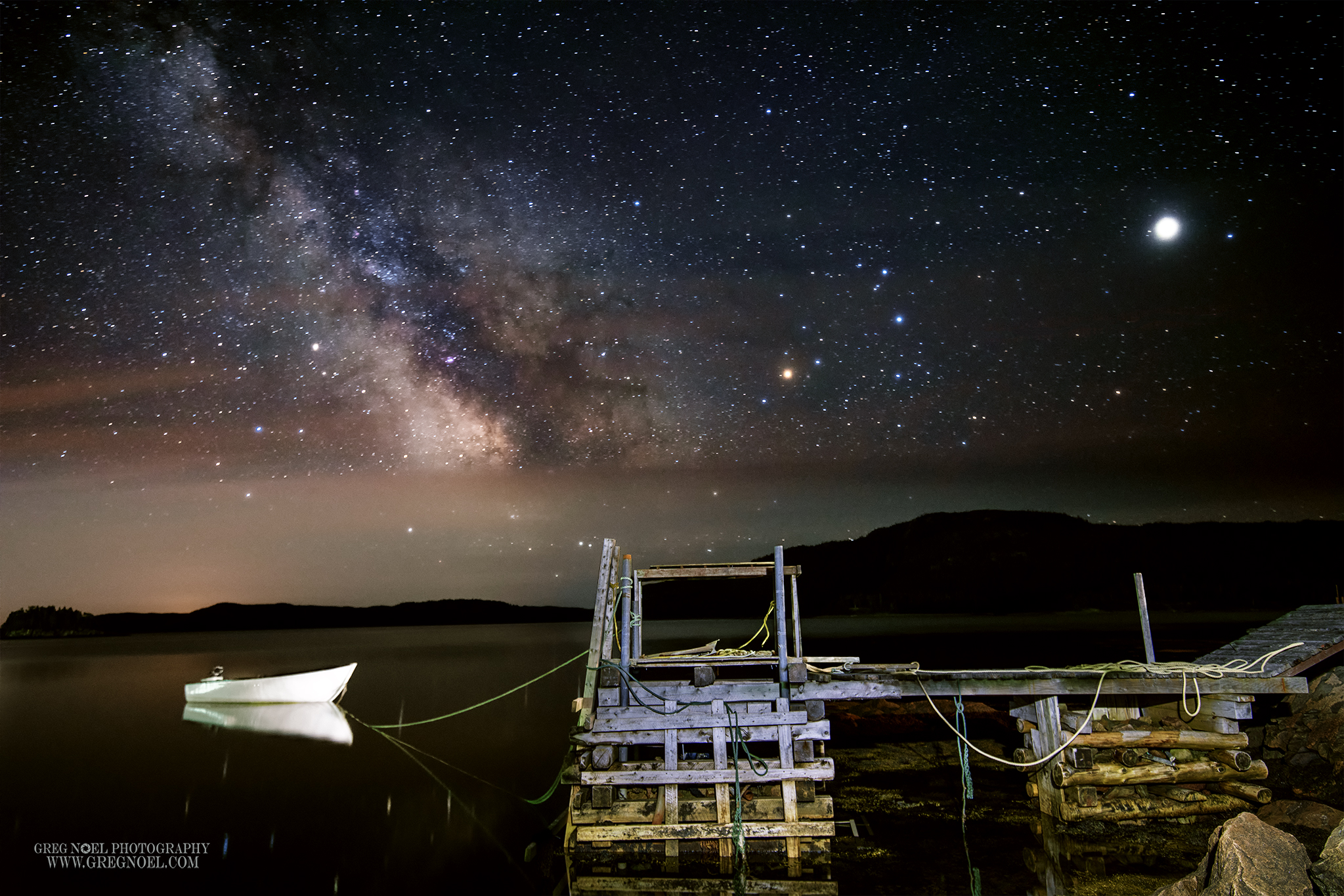 Swift Current  calm waters milky way.jpg