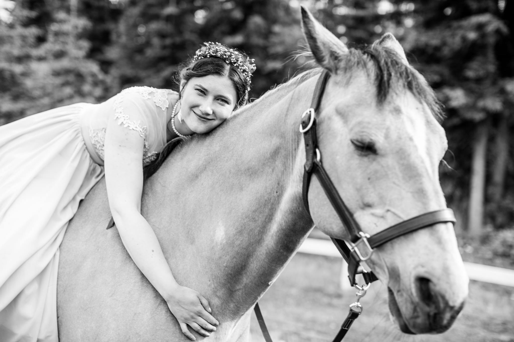 Meet your 4-H leader, Zoe Seppi - I was born and raised in Alaska and have been riding horses since I was about 8 years old. I took a few lessons and mostly trail rode throughout my teenage years. In high school I was part of South High Schools AF JROTC program and flag football team. As an adult I was able to go to more horse activities and began participating and competing in Competitive Trail Riding as well as going to as many fun days and and clinics as I could. I have trained with Steve Rother and Wylene Wilson and have multiple certificates through Equi-Health USA. I am currently part of the Anchorage Horse Council board and help run the William Chamberlin Equestrian Center year round. I own Raven Tree Stables in Anchorage with my husband and have two horses of my own, Romeo my gelding, and Frosty my retired mare.