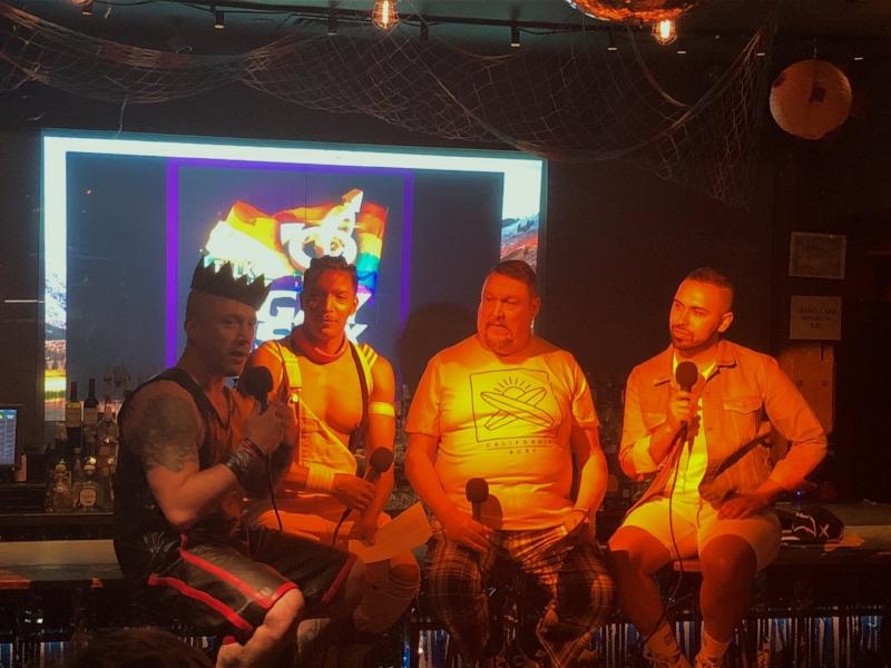 Master Joshua, Host Steve V. Rodriguez, Co-host Steve Carpenter, Co-host Jeremy Ross Lopez