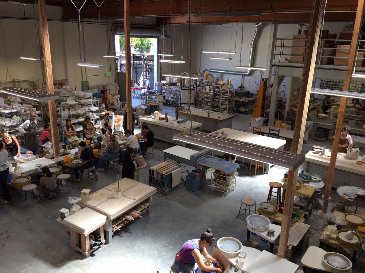 The Potters Studio Berkeley Space