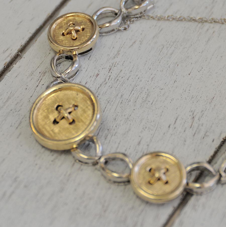 Trish's Custom Button Bracelet