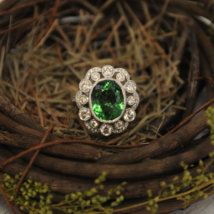 Spark Creations   One-of-a-kind   Tourmaline Ring