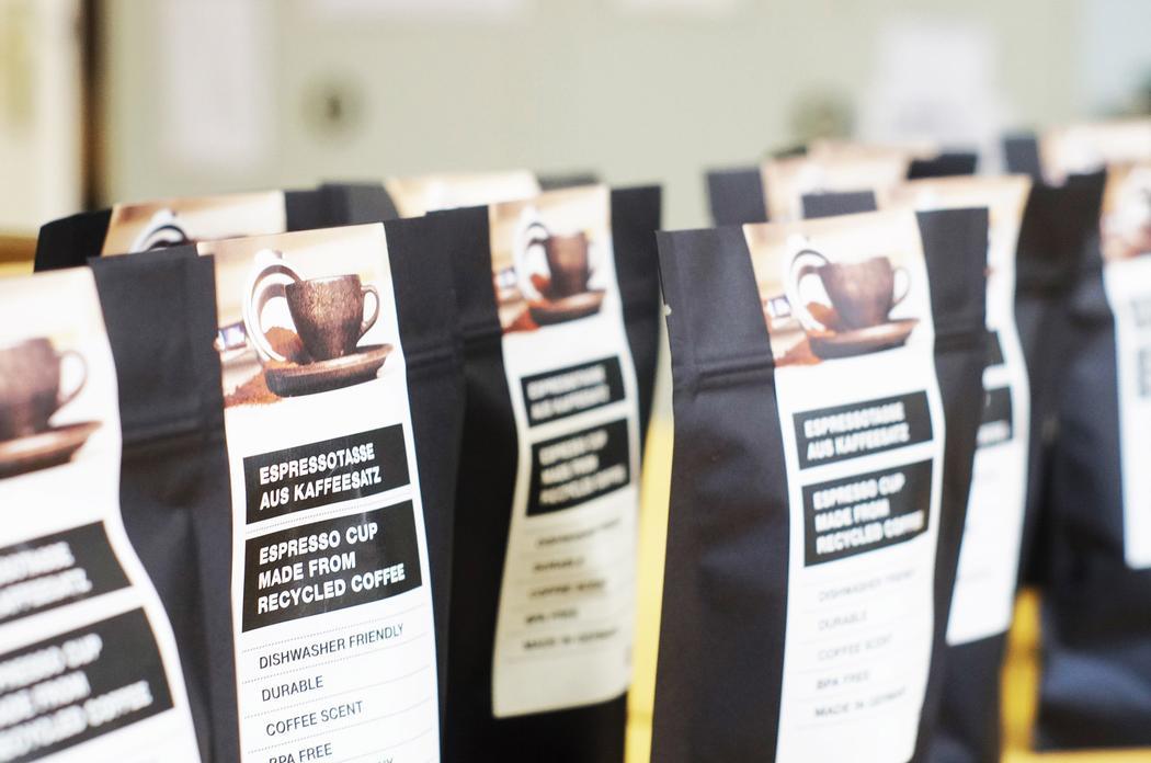 パッケージにはコーヒー豆を販売する袋を採用。開けた時にコーヒーの香りを感じられる上手な仕組み
