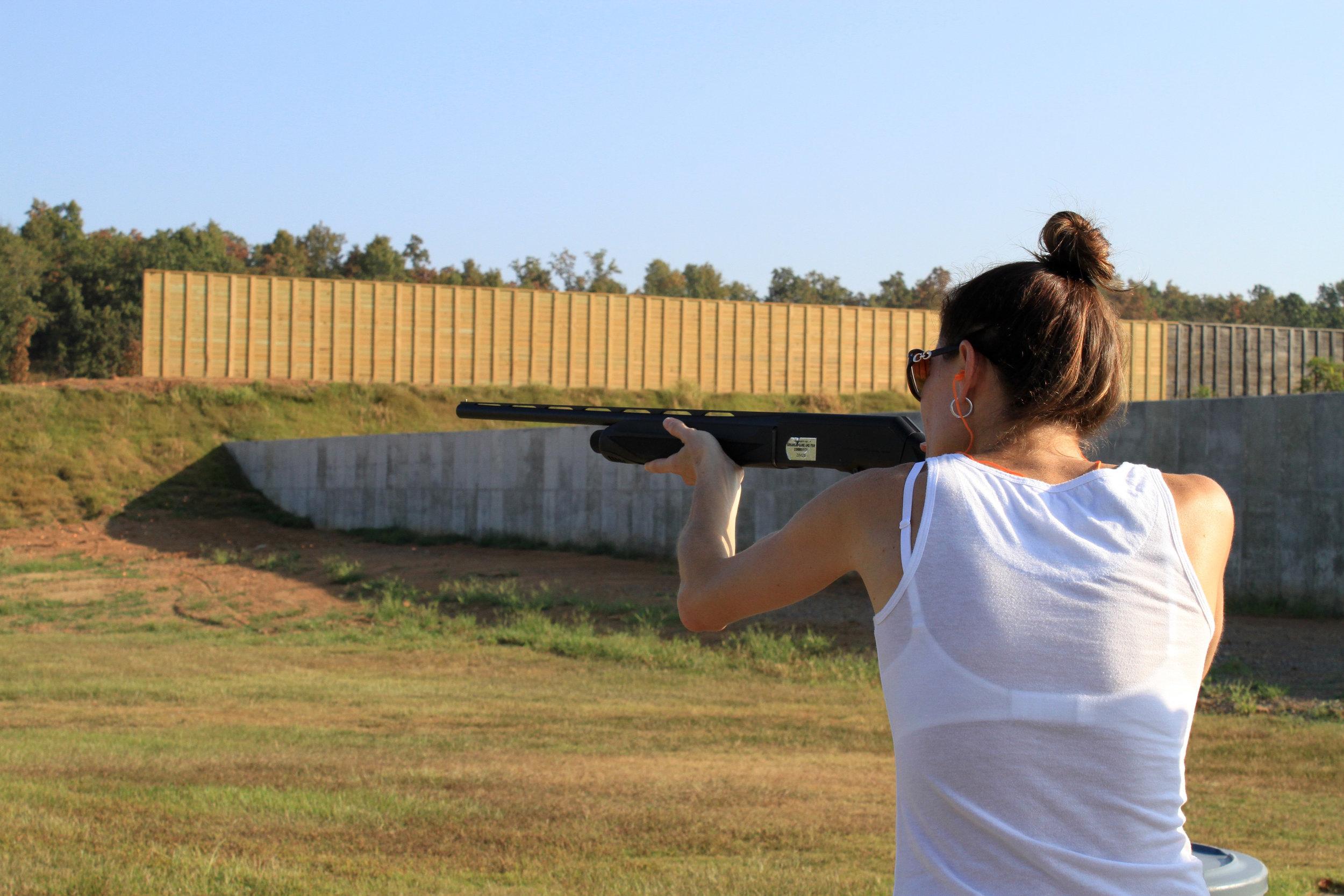 Arkansas Game and Fish Firing Range, Conway