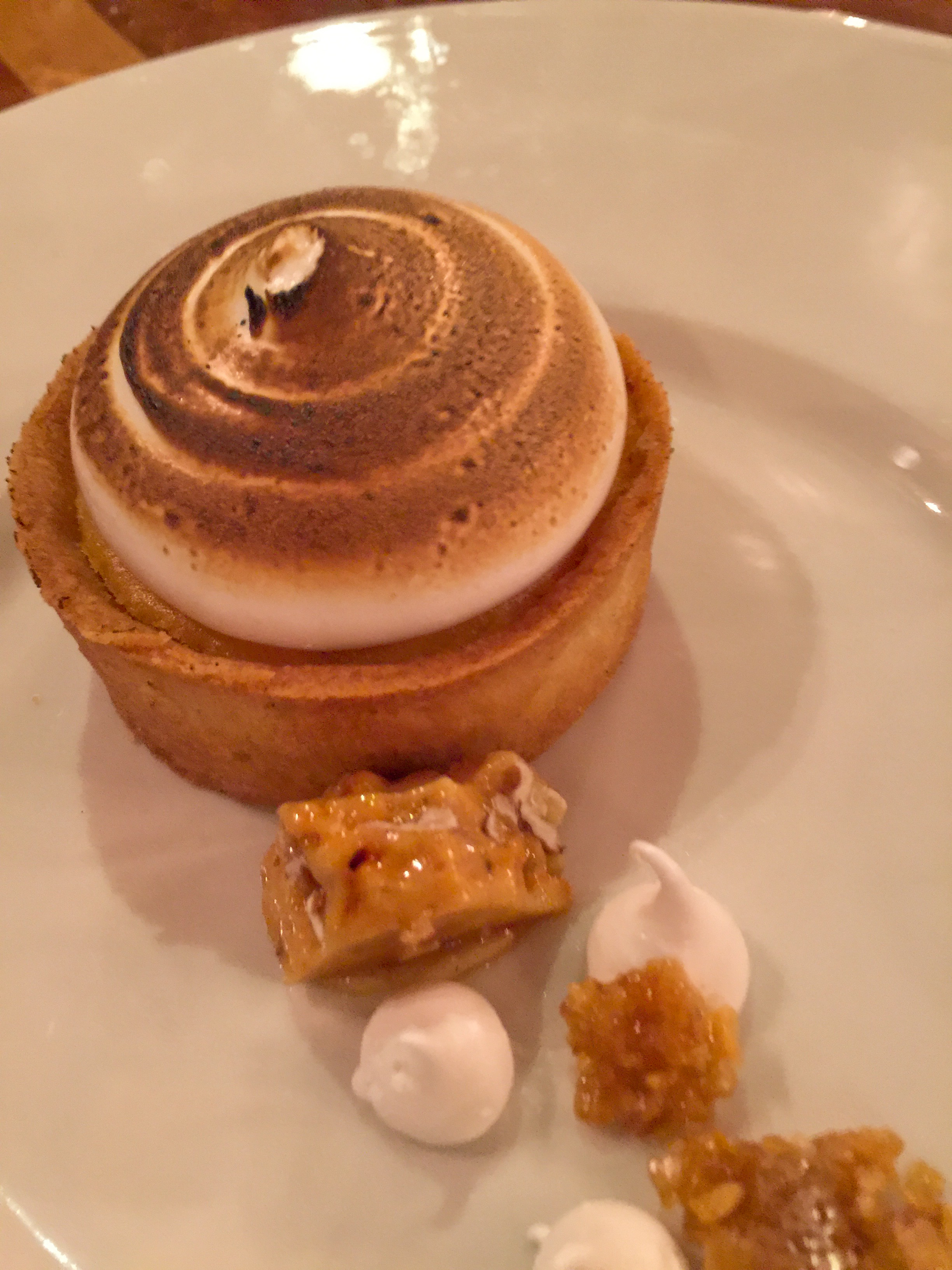 Capital Hotel Sweet Potato Torte